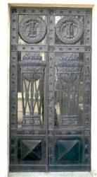 Portes de chapelles sépulcrales – Division 25 – Cimetière du Père-Lachaise – Paris (75020)