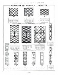 BAY_F3_PL208 – Panneaux de portes et impostes