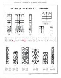 BAY_F3_PL209 – Panneaux de portes et impostes