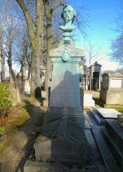 Buste de Jean Adolphe Beaucé – Cimetière du Père-Lachaise – Paris (75020)