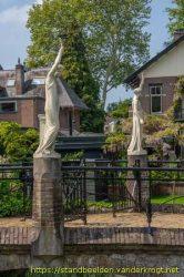 Statues torchères (2) – Bussum – Hollande