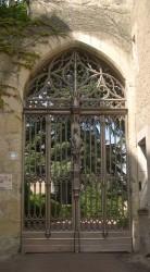 Porte gothique – Château – Montrésor