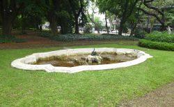 Fontaine au cygne – Jardin botanique – Buenos Aires