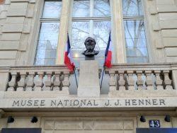 Buste de Jean-Jacques Henner – Musée Henner – Paris (75017)