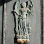 Portes de l'église Saint-Baudile avec appliques - Noves - Image2