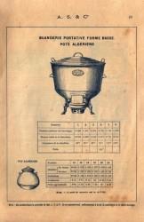 SAL_V1900_PL010 – Buanderie portative forme basse – Pots algériens