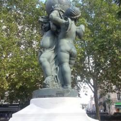 Fontaine – Place de la République – Dijon