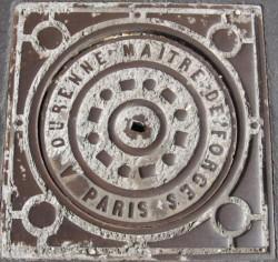 Plaque de voirie – Troyes