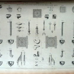 DUC_VO_PL157_F138 – Tuyaux cannelés, cuvettes, tampons de regard, syphons, chasse-roues