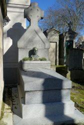 Buste d'André Renard – Cimetière du Père-Lachaise – Paris (75020)