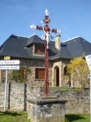 Christ en croix – Sauveterre-de-Rouergue