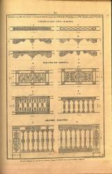 AND_PL003 – Barres d'appui pour croisées, balcons de croisées, grands balcons