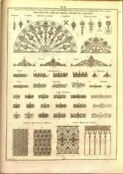 AND_PL012 – Ornements de  grilles, portes frises et balcons