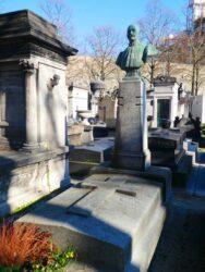 Buste d'Henri Gaillet – Cimetière de Montparnasse – Paris (75014)