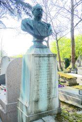 Buste du général Uhrich – Division 50 – Cimetière du Père Lachaise – Paris (75020)