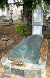 Sépulture de la famille Alaux – Cimetière de la ville – Cahors