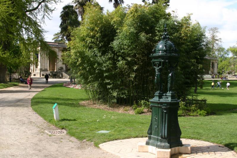 Fontaine Wallace Jardin public – Bordeaux