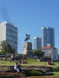 Statue équestre du général San Martin – Parque San martin – Mar del Plata
