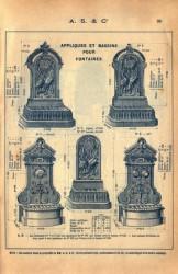 SAL_V1900_PL098 – Appliques et bassins pour fontaines