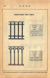 SAL_V1900_PL101 – Garde-corps pour ponts