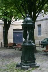 Fontaine Wallace  – Place Porto Riche – Bordeaux