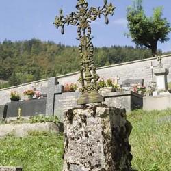 Croix de cimetière – La Ferrière – Jougne