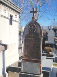 Monument funéraire à Louis Léon Foucher – Cimetière de Montparnasse – Paris (75014)