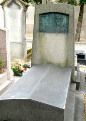 Plaque de la sépulture Lhéritier – Division 44 – Cimetière du Père Lachaise – Paris (75020)