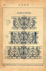 SAL_V1900_PL152 – Balcons de croisées