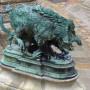 Chiens, loups et sangliers (4) – Cour Lefuel – Palais du Louvre – Paris