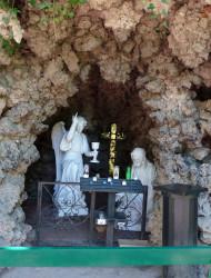 Grotte de l'agonie – Parc des Chapelains – Paray-le-Monial