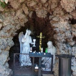 Grotte – Parc des Chapelains – Paray-le-Monial