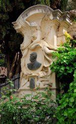 Monument au comte Armand de Pontmartin (fondu et remplacé) – Les Angles