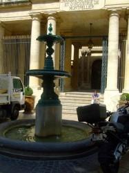 Fontaine  Chambre de commerce – Montpellier