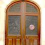 Panneaux de porte, battement, heurtoirs, marquise - Villeneuve sur Lot - Image7