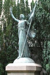 Monument à Jeanne d'Arc ou l'Ange de la Paix – Poitiers