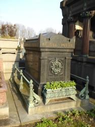Tombe de la famille Puille – Cimetière du Père-Lachaise – Paris (75020)