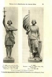STATRE_PL099 – Statues de la béatification de Jeanne d'Arc
