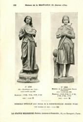 STATRE_PL100 – Statues de la béatification de Jeanne d'Arc
