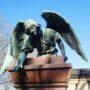 Ange de la sépulture de Fabi - Cimetière de Montparnasse - Paris (75014) - Image2