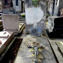 Tombe de Gomez Carrillo et Consuelo de Saint-Éxupéry – Cimetière du Père-Lachaise – Paris (75020)