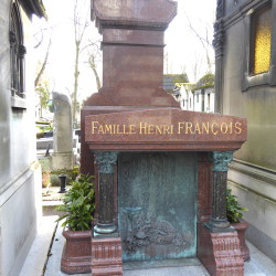 Tombe de la famille Henri François – Cimetière du Père-Lachaise – Paris (75020)