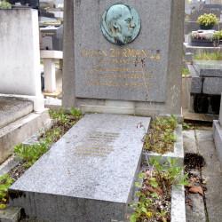 Tombe de Julien Zerman – Cimetière du Père Lachaise – Paris (75020)