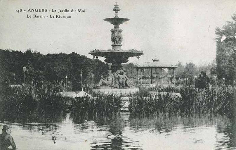 Fontaine monumentale – Jardin du Mail – Angers