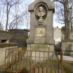 Monument à Isidore-Hippolyte Brion – Cimetière du Père-Lachaise – Paris (75020)