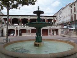 Fontaine – Place de Verdun – Castelnaudary