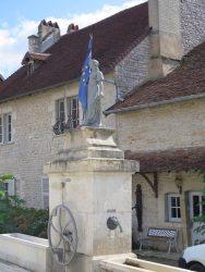 Statue de la République – Fontaine Marianne – Chemaudin – Chemaudin et Vaux