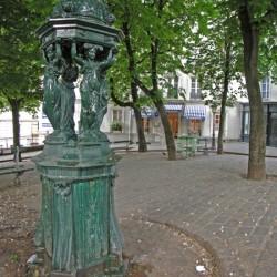 Fontaine Wallace – Place Émile Goudeau – Paris (75018)