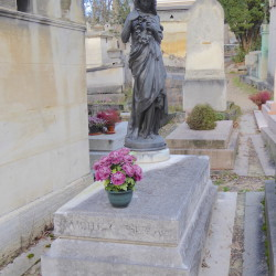 Tombe de la famille Cassereau – Cimetière du Père Lachaise – Paris (75020)