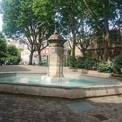 Fontaine de la place Henri Barbusse – Gentilly